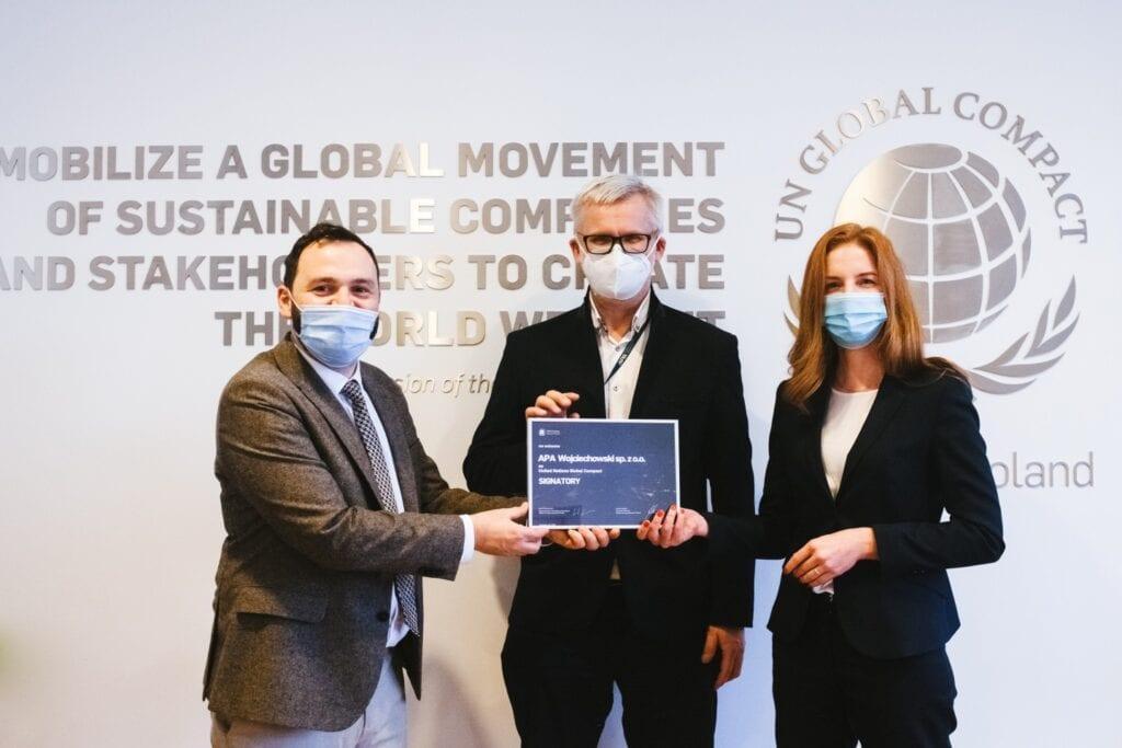 APA Wojciechowski dołącza do globalnej inicjatywy United Nations Global Compact