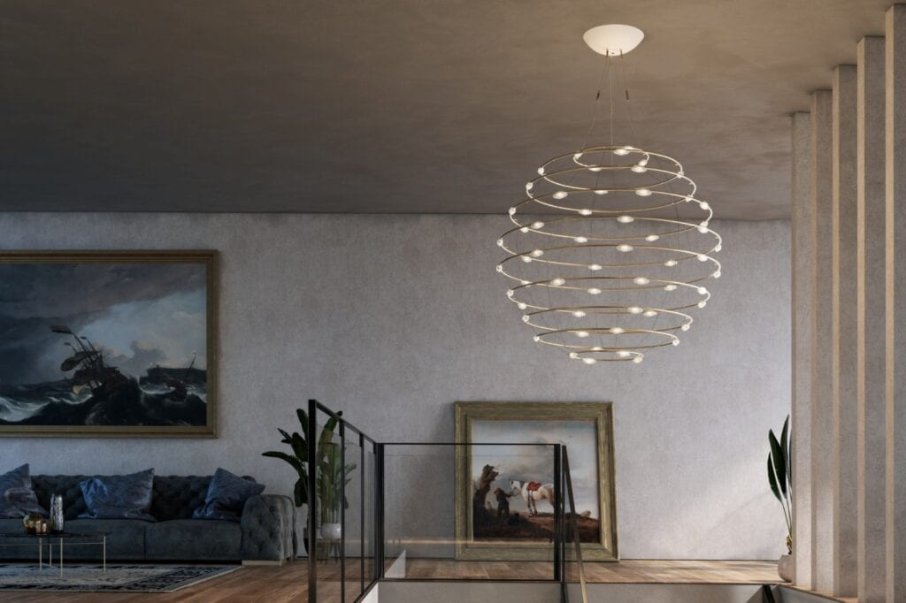 Alchemia światła - inspiracje od Mood-Design - Catellani&Smith