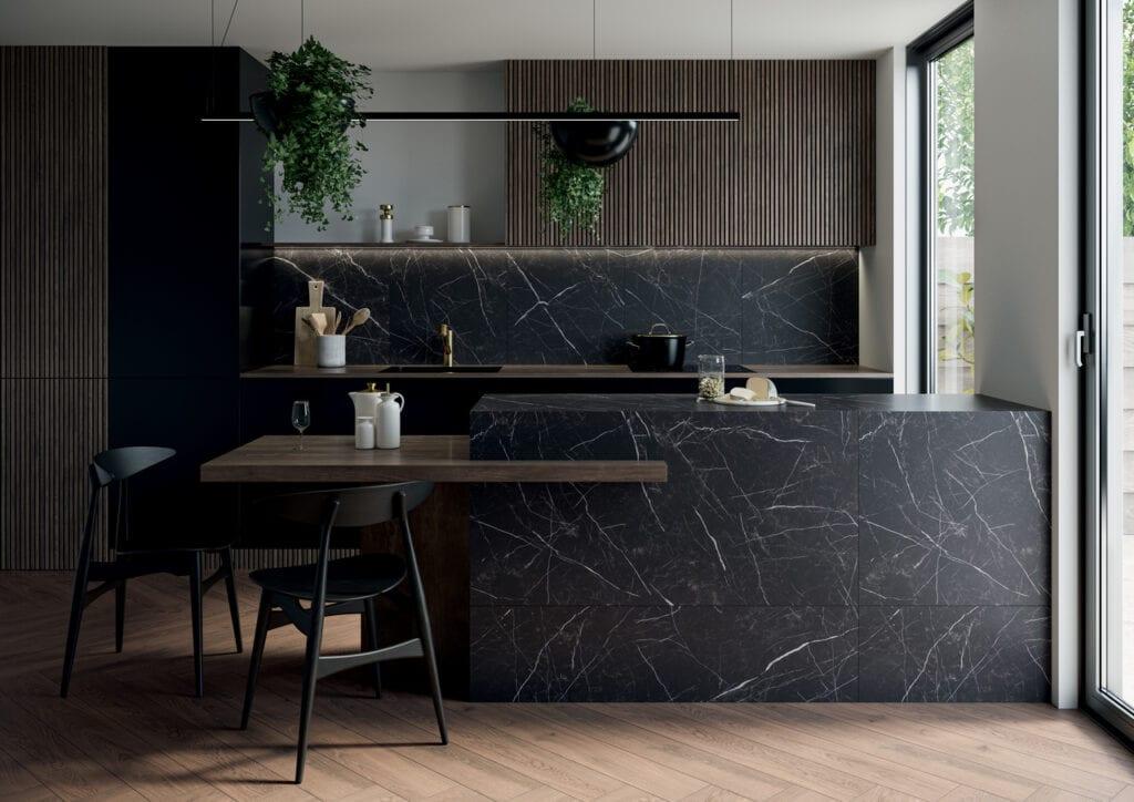 Artstone - elegancja czarnego marmuru w kolekcji Ceramiki Paradyż