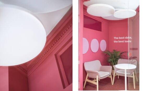 Biuro firmy YouGov projektu pracowni Monarchia Design