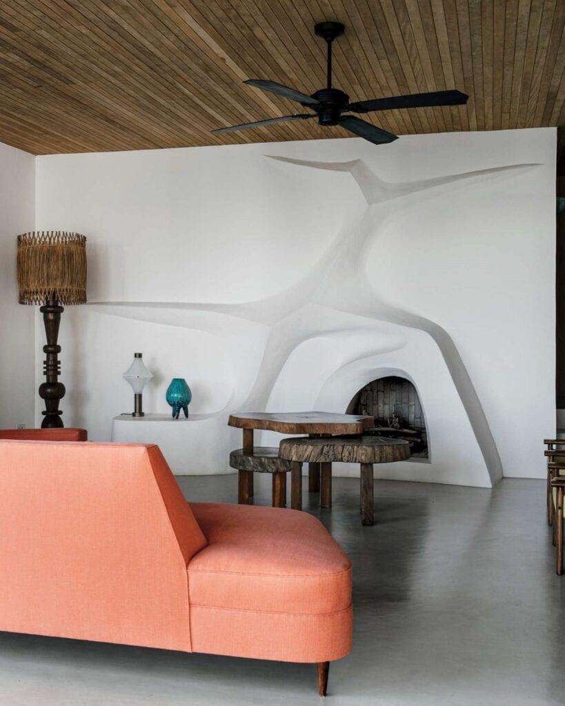 Casa Cajueiro - perła nowoczesnej architektury w sercu dżungli - foto Filipe Redondo