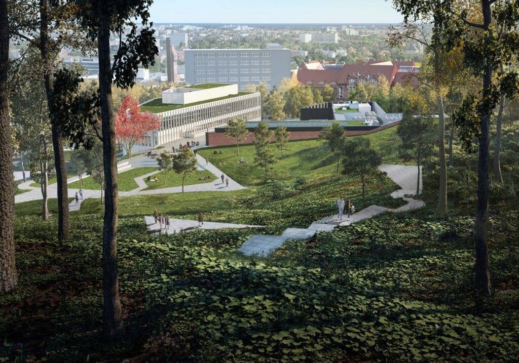 Centrum Kompetencji STOS - projekt pracowni Arch-Deco - wizualizacje Pote Graphics