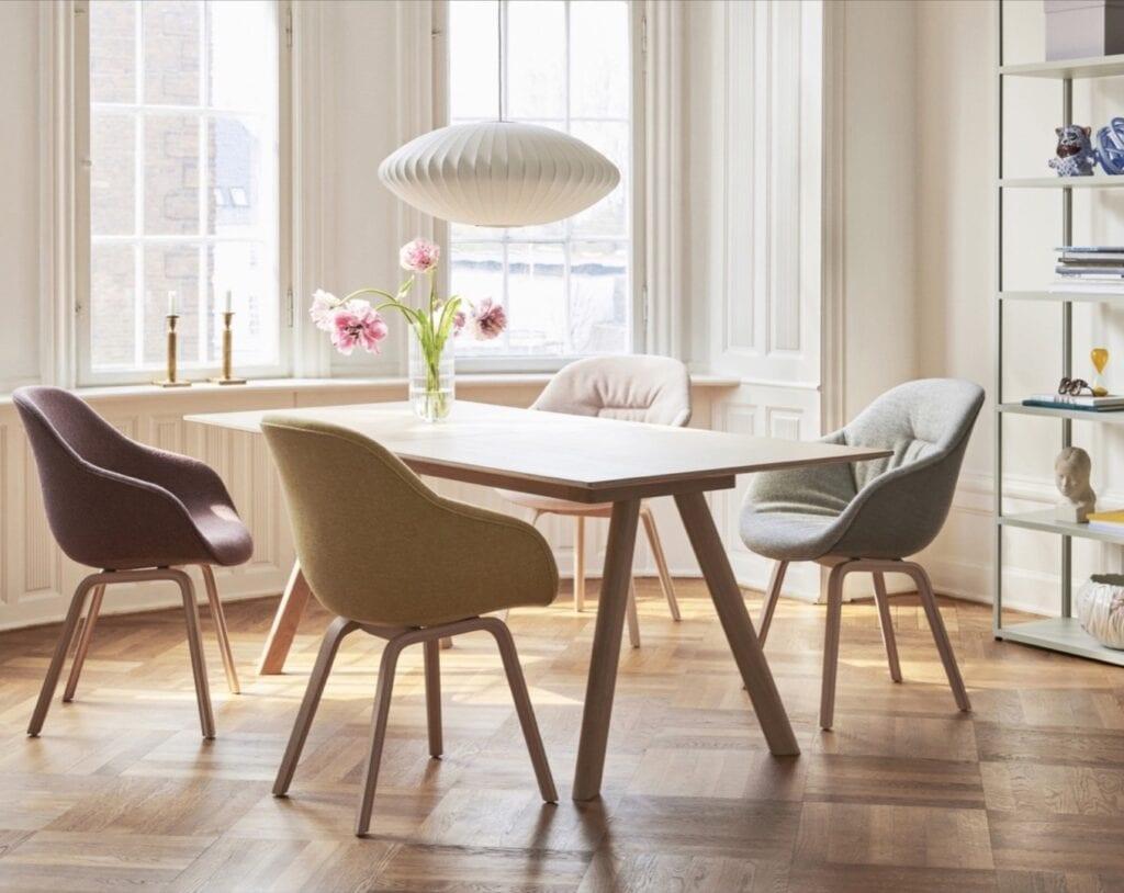 HAY - skandynawski minimalizm w najlepszym wydaniu - ABOUT A CHAIR, Hee Welling