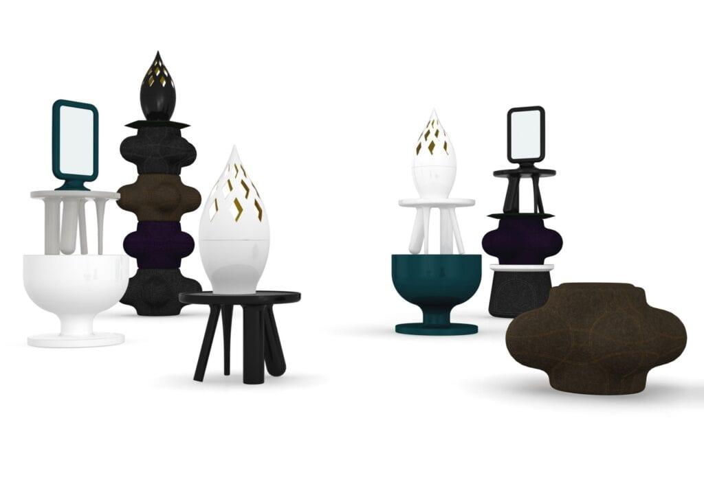 Jaime Hayon - design, humor i emocje - Stoliki elements - Moooi