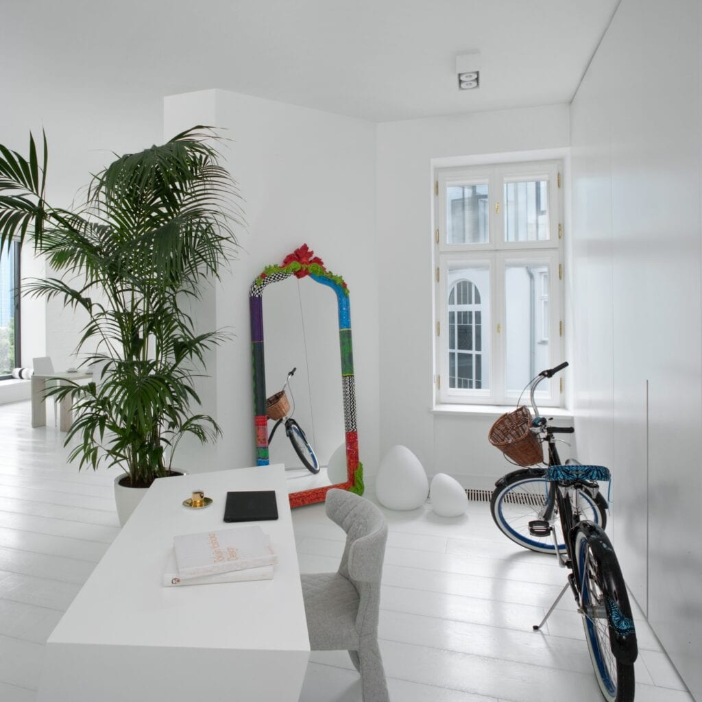 Kulczyński Architekt i przestronny apartament w starej kamienicy