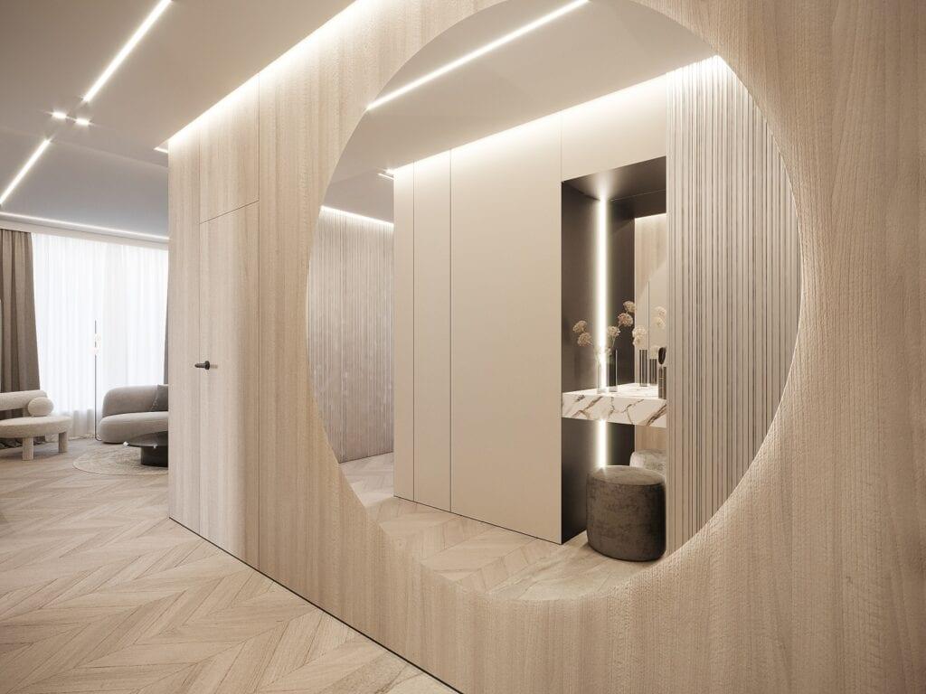 MOOVIN INTERIORS i projekt 100-metrowego apartamentu w Warszawie
