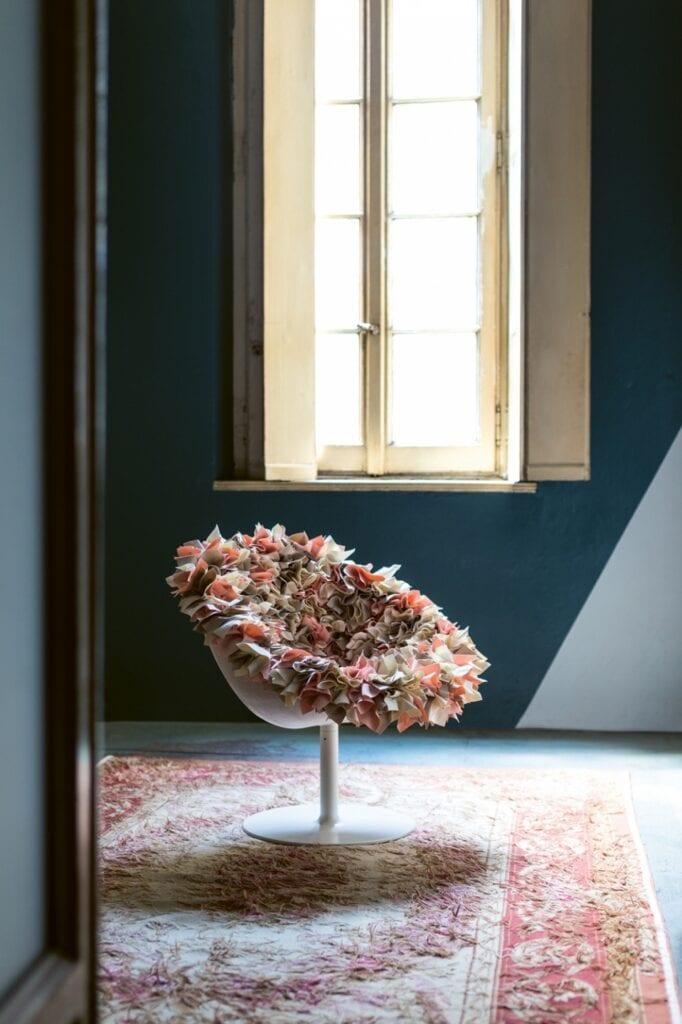 Moroso - włoska miłość do projektowania - Fotel Bouquet