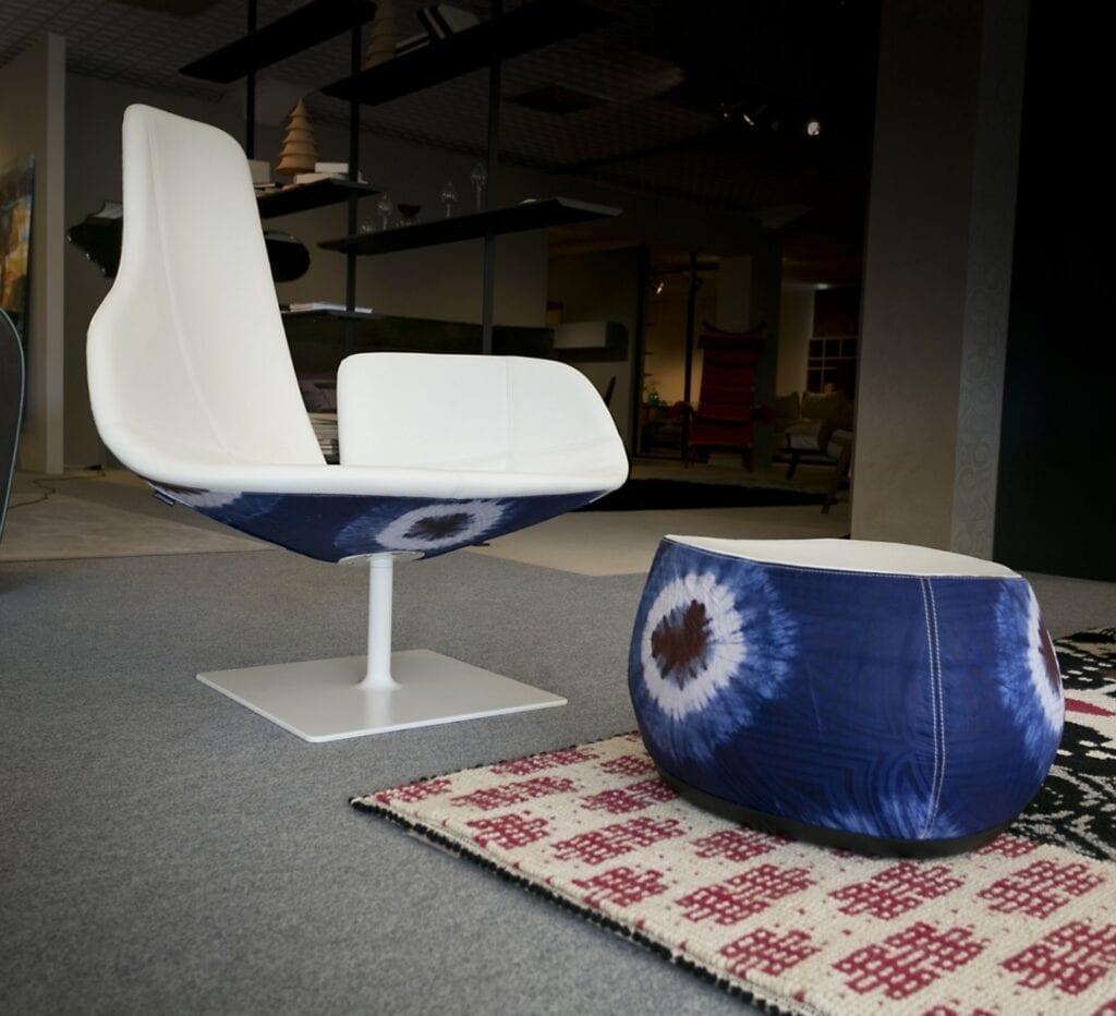 Moroso - włoska miłość do projektowania - Fotel Fjord - projekt Patricia Urquiola