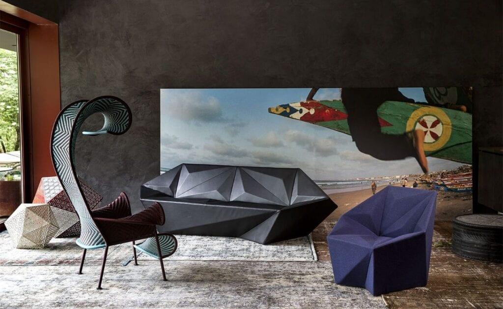 Moroso - włoska miłość do projektowania - Gemma - projekt Daniel Libeskind