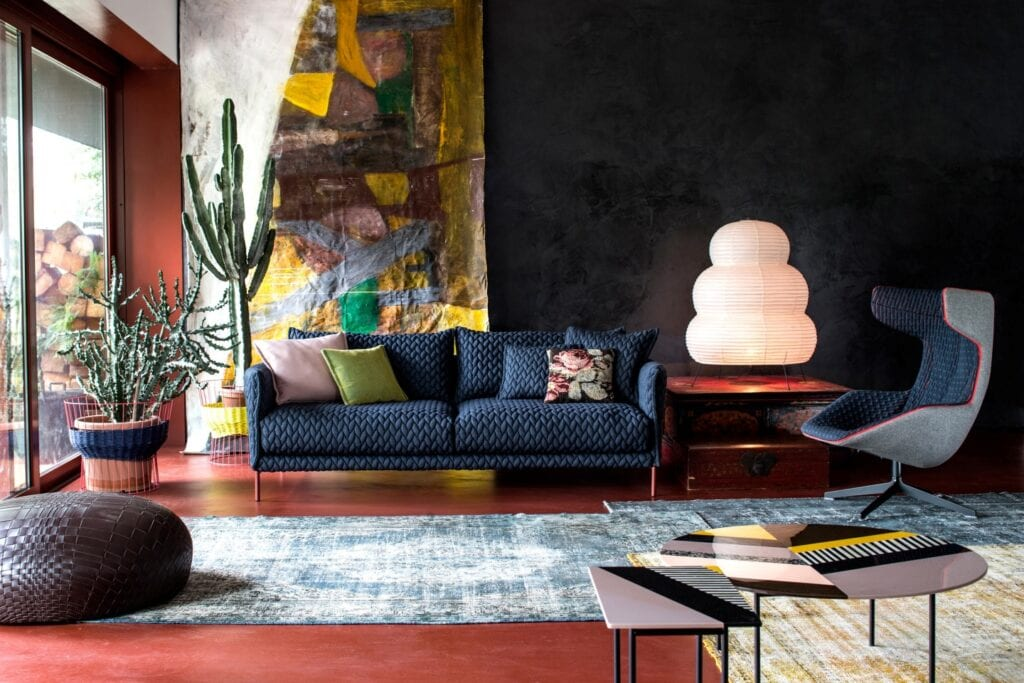 Moroso - włoska miłość do projektowania - sofa Gentry