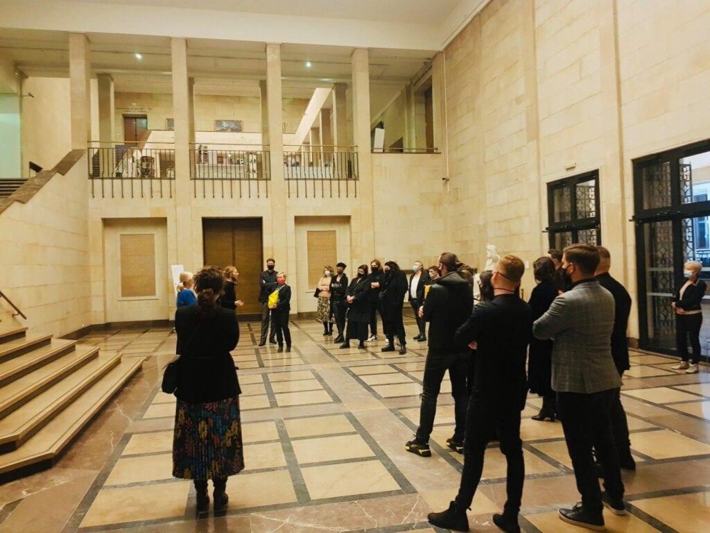 Na styku sztuki i architektury - SAW i Stowarzyszenie Przyjaciół Muzeum Narodowego