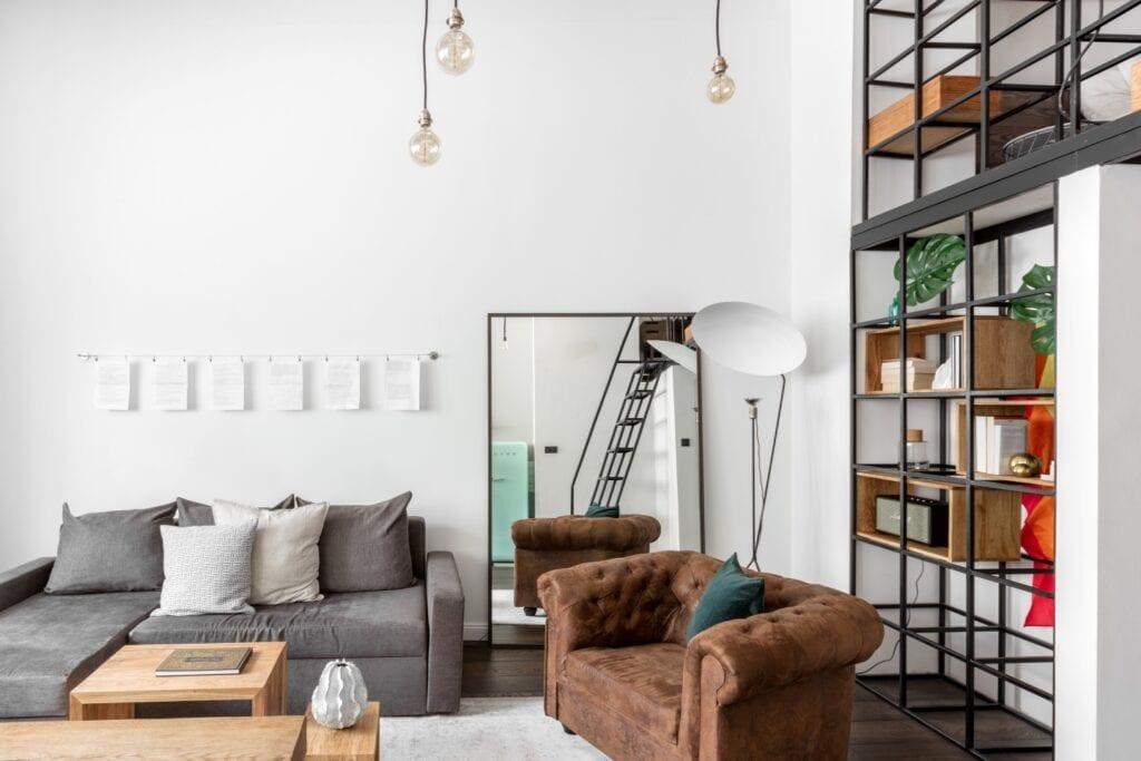 Pracownia Lokal Studio i loftowe wnętrze w Krakowie - foto Ayuko Studio