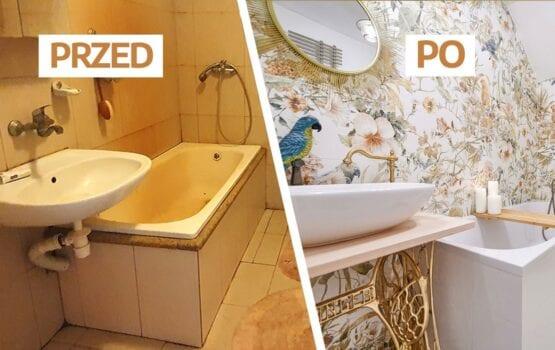 Remont łazienki w Siedlisku blogerki LadyoftheHouse