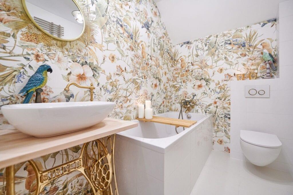 Remont łazienki w Siedlisku blogerki LadyoftheHouse - Małgorzaty Kowalewskiej-Kawuza