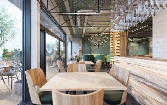 """Restauracja """"Pizza i wino"""" – wnętrza, które zaskakują funkcjonalnością!"""