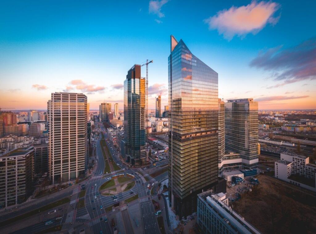 Skyliner - biurowiec na warszawskiej Woli