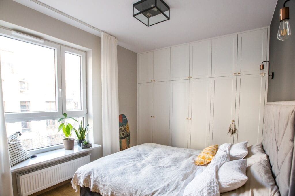 Zai Studio i projekt mieszkania na warszawskim Żoliborzu - foto Agnieszka Szustorowska
