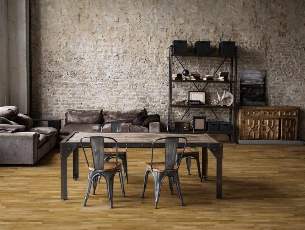 Zgrany duet, czyli z jakimi stylami łączyć drewnianą podłogę? Avangard Dąb DLH