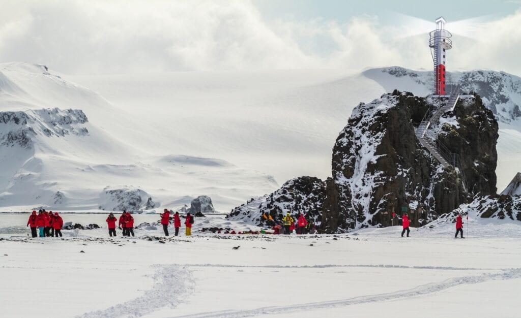 Antarktyczna latarnia morska spod kreski Kuryłowicz & Associates