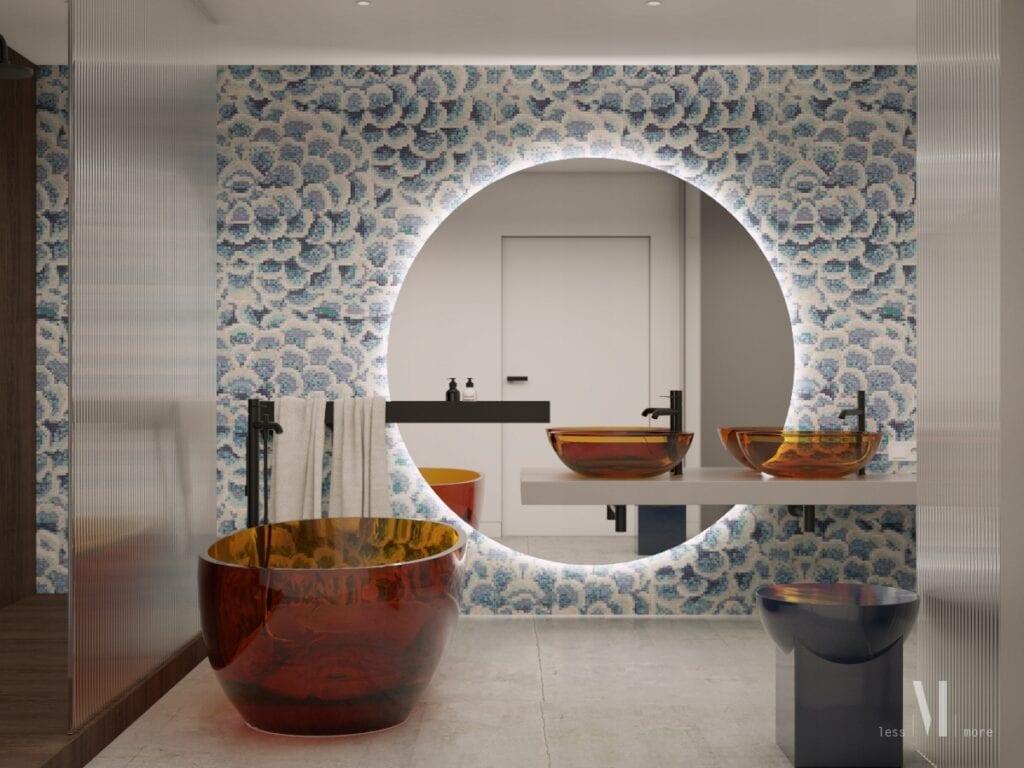 """""""Architekci grają dla WOŚP"""" - Less More Studio Projektu - Kompleksowy projekt aranżacji łazienki"""