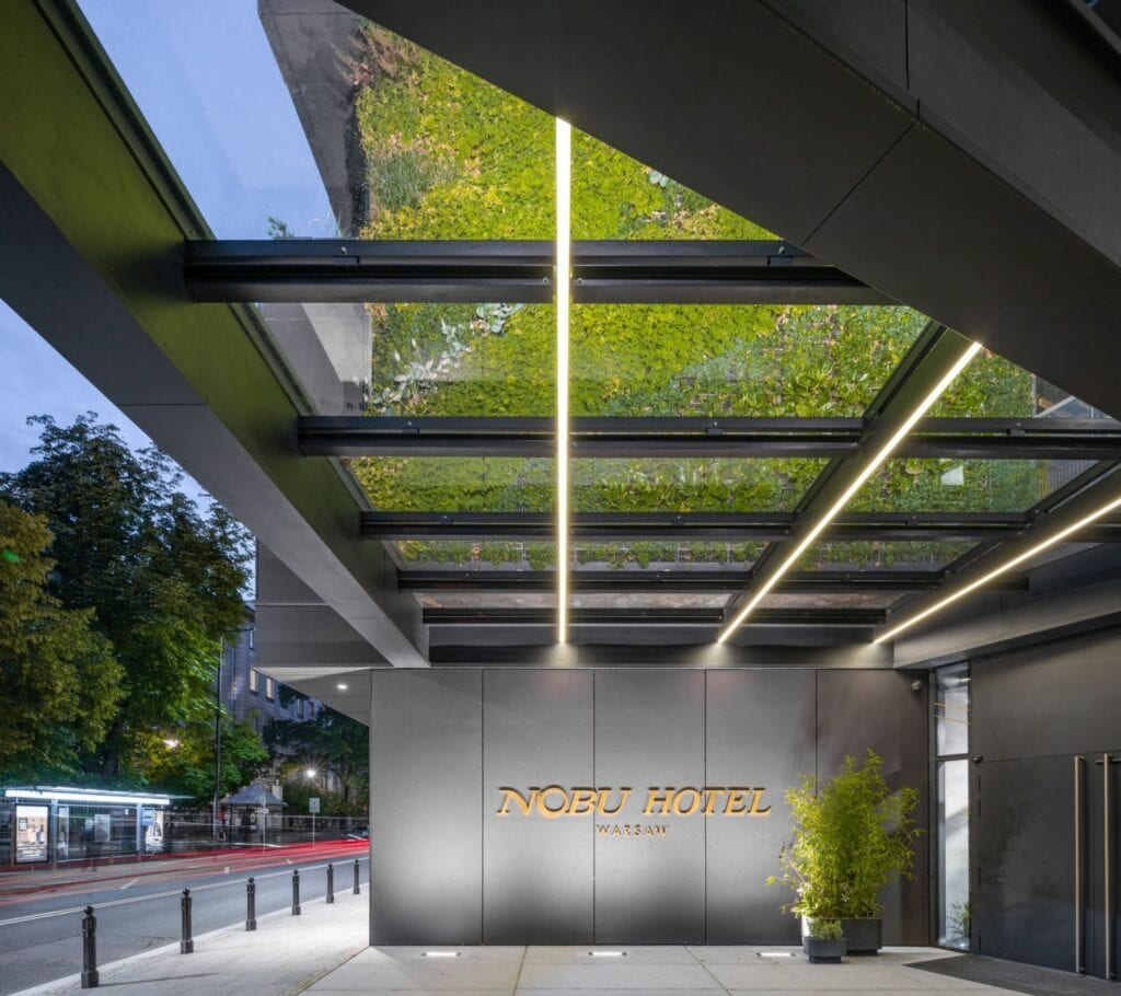 Art in Architecture Festival - Nobu Hotel - foto Juliusz Sokołowski