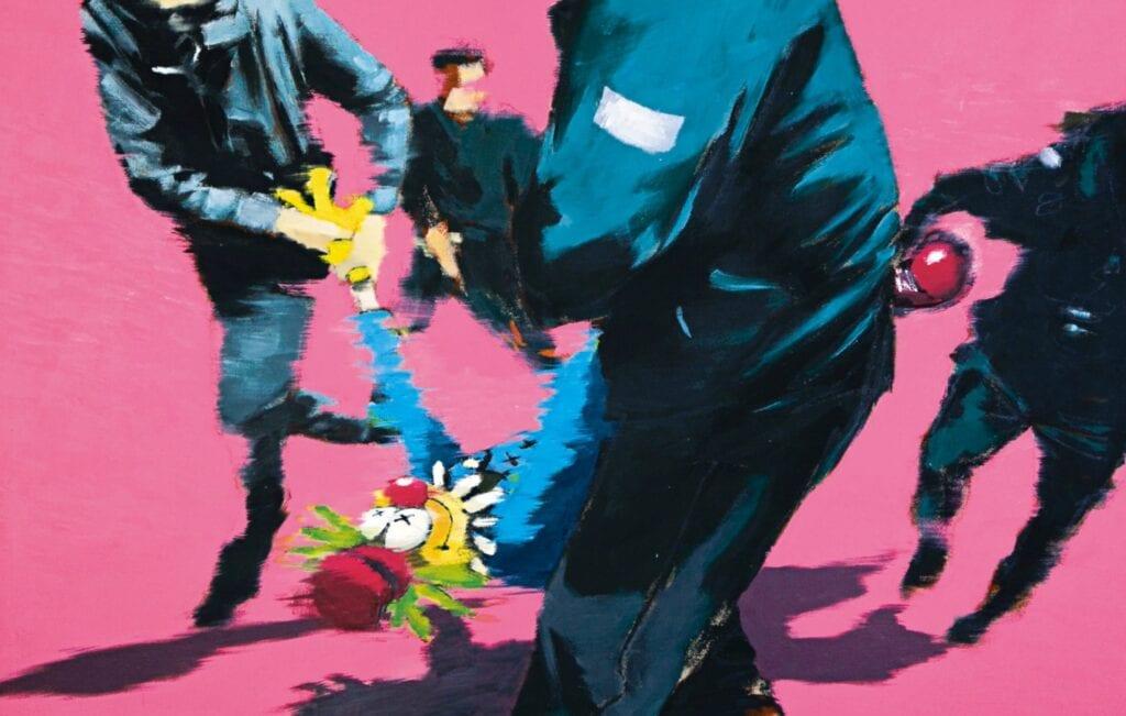 Banksy - wyjątkowy artysta street art