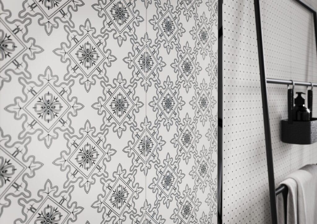 Cersanit i modne aranżacje z powiewem luksusu - Black & White