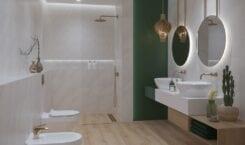 Cersanit i modne aranżacje łazienkowe z powiewem luksusu