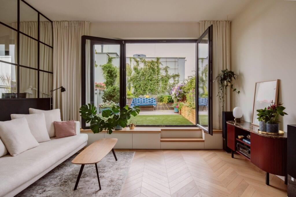Dembowska Studio i przestronne mieszkanie na warszawskim Wilanowie - foto KRONIKI Studio