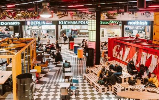 Foodport w CH Galaxy Szczecin – portowa przystań projektu MIXD