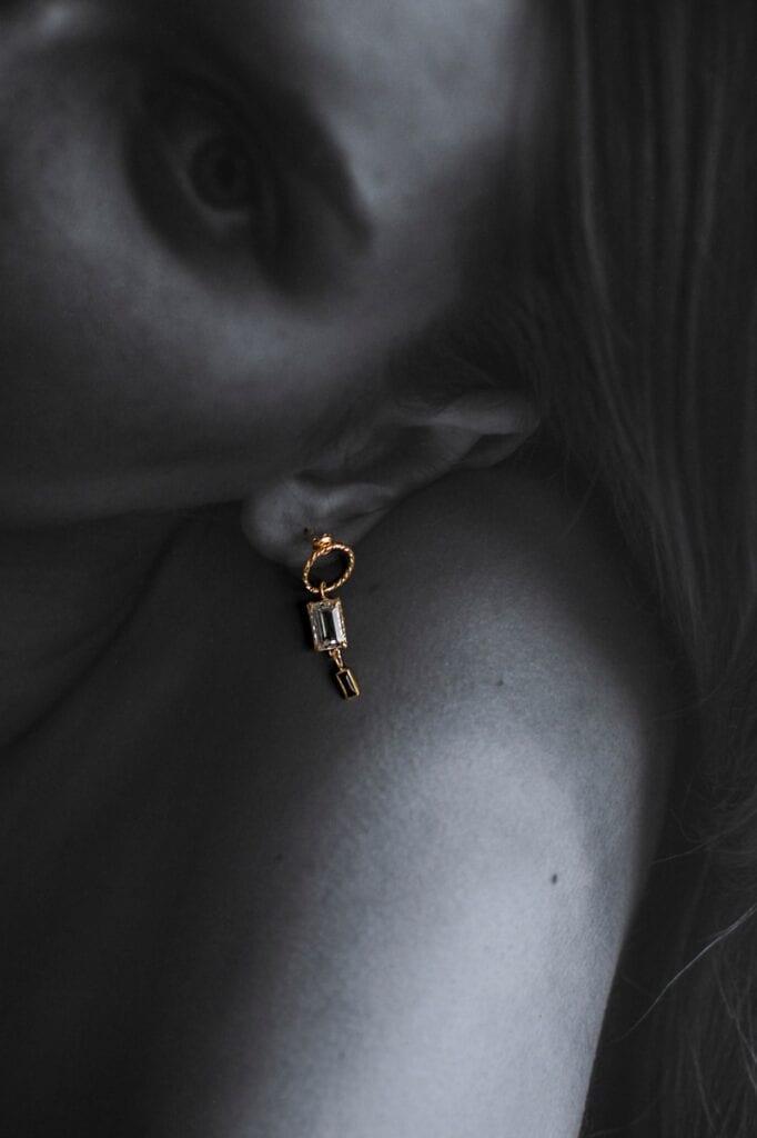 GROOVY - wyjątkowa biżuteria od Joanny Mach i Doroty Staniec - Kolczyk Blue Velvet No. 5
