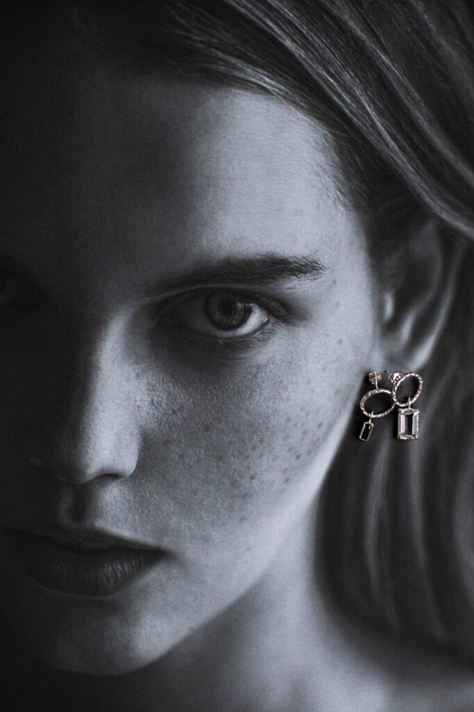 GROOVY - wyjątkowa biżuteria od Joanny Mach i Doroty Staniec - Kolczyk Blue Velvet No. 3, Kolczyk Blue Velvet No. 4
