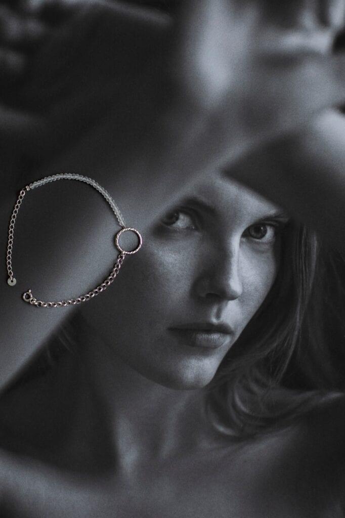 GROOVY - wyjątkowa biżuteria od Joanny Mach i Doroty Staniec - Bransoleka Blue Velvet Crystal