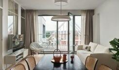 Mieszkanie w Gdańsku zaprojektowane przez Studio Inbalance
