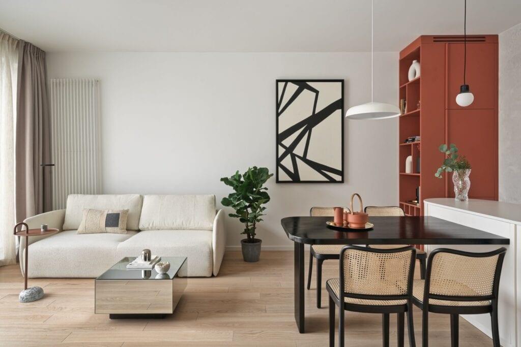Mieszkanie w Gdańsku zaprojektowane przez Studio Inbalance - foto Tom Kurek