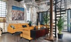 Mieszkanie w stylu loft od pracowni Sikora Wnętrza