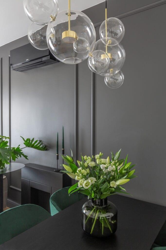 Naboo Studio i wnętrza niewielkiego mieszkania na Wilanowie - foto Pion Poziom