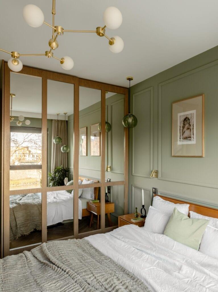 Naturalne materiały w mieszkaniu projektu Finchstudio - foto Aleksandra Dermont