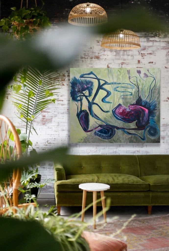 Obrazy Doroty Łapy-Maik - sztuka inspirowana emocjami