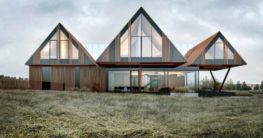 RE: BRRRDA HOUSE - dom w mazurskim klimacie - projekt Marcin Tomaszewski - REFORM Architekt