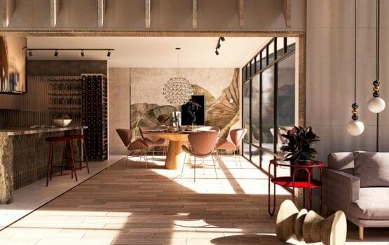 Wnętrza wypełnione polskim designem w projekcie Aleksandry Kośmider