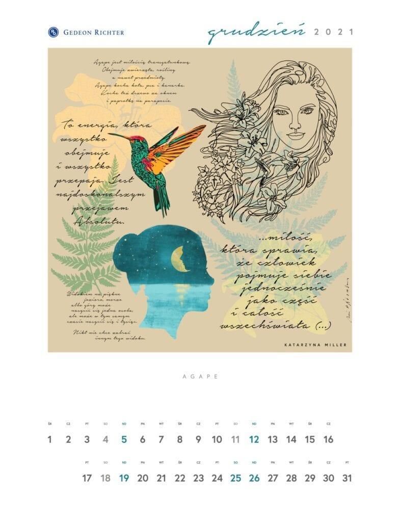 10. edycja Kalendarza Artystycznego Gedeon Richter Polska