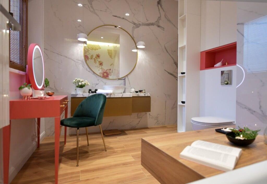 Apartament na warszawskiej Ochocie przy Parku Szczęśliwickim - projekt Anna Nowak-Kacprzak