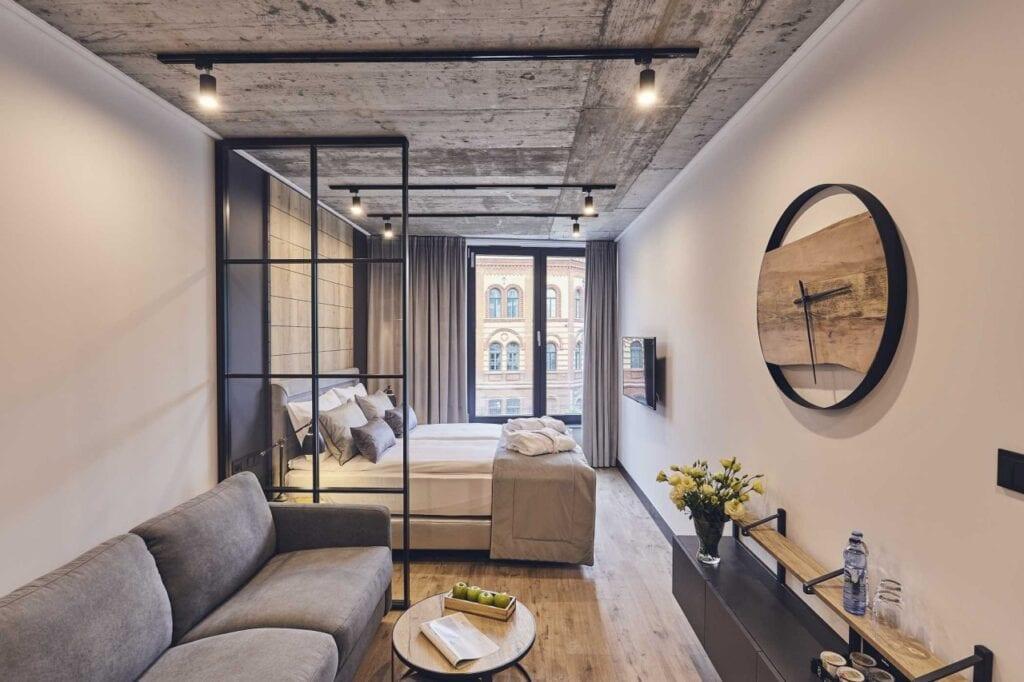 Aparthotel The Bridge Suites w Krakowie zaprasza na Podgórze - foto Pan Pstryk