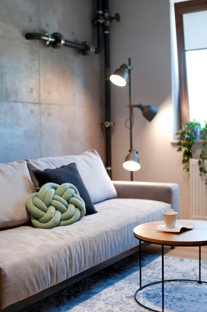 Dwupoziomowe mieszkanie w Tczewie projektu Mikulska Studio - foto Jakub Ignaczak Estaget
