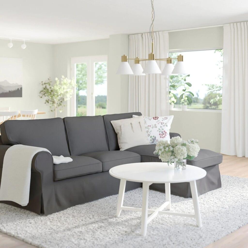 IKEA - historia marki i jej najciekawsze projekty - Sofy i narożniki EKTORP