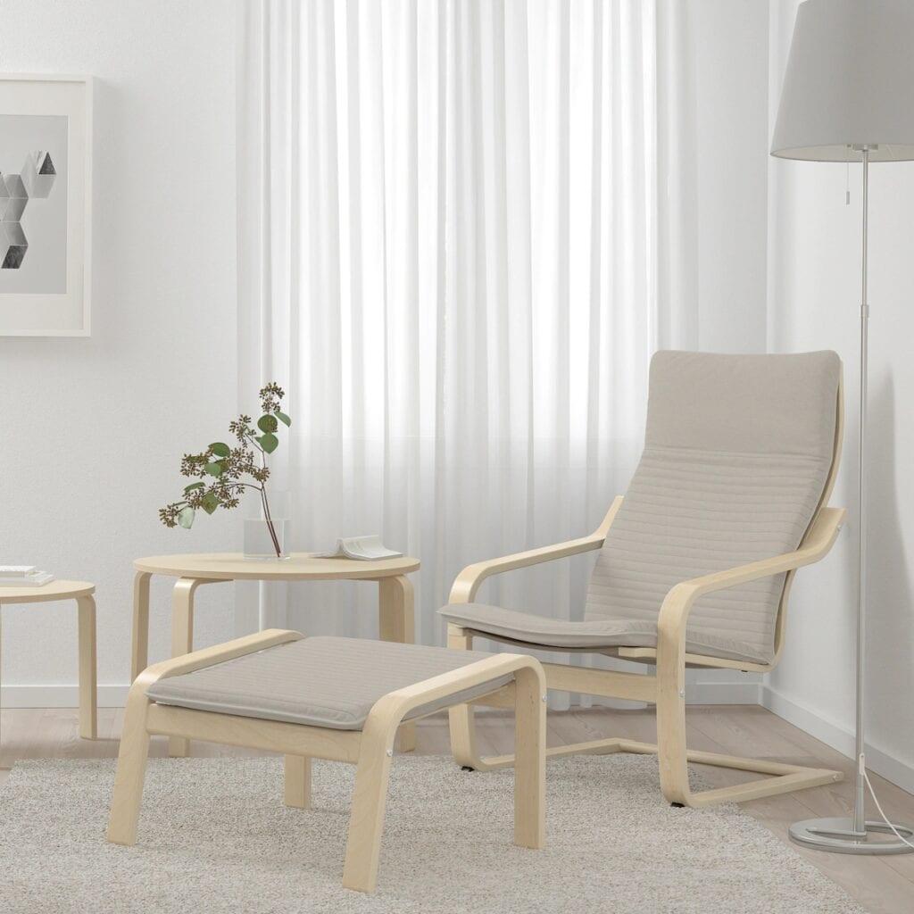 IKEA - historia marki i jej najciekawsze projekty - Fotel POÄNG