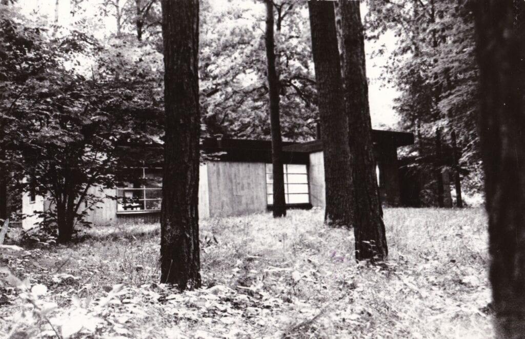 Jan Szpakowicz, Zalesie, dom własny, 1965-70, foto Renata Pajchel