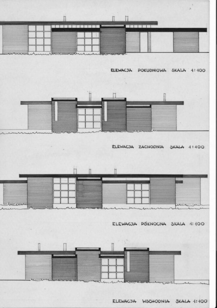 Jan Szpakowicz, Zalesie, dom własny, 1965-70, projekt