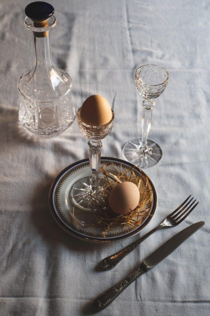 Magiczny czas Wielkanocy - mniej znaczy więcej - Huta Julia